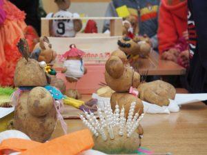 ozdoby z ziemniaków