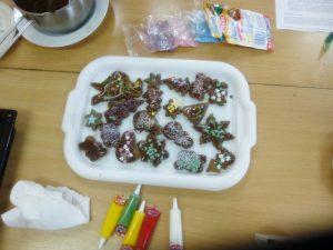 pierniki na talerzach